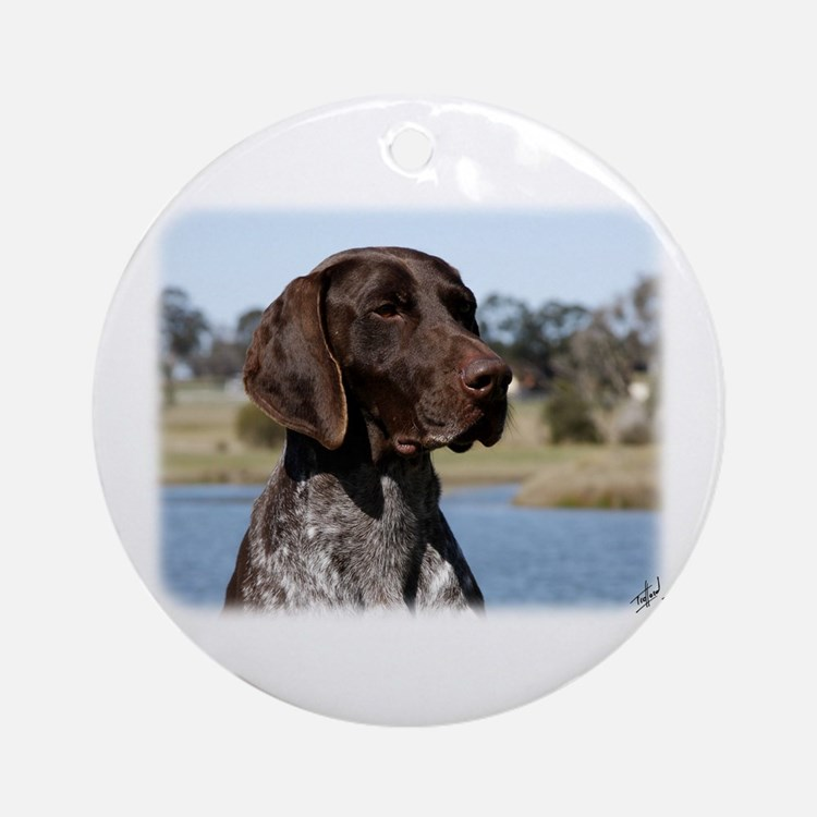 German Shorthaired Pointer 9Y832D-027 Ornament (Ro