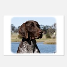 German Shorthaired Pointer 9Y832D-027 Postcards (P