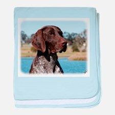 German Shorthaired Pointer 9Y832D-027 baby blanket