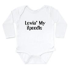 Lovin' My Spoodle Long Sleeve Infant Bodysuit