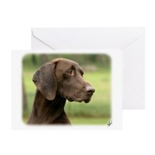 German Shorthaired Pointer 9Y163D-159 Greeting Car