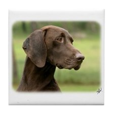 German Shorthaired Pointer 9Y163D-159 Tile Coaster