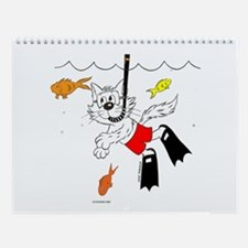 Catoons™ Snorkle Cat Wall Calendar