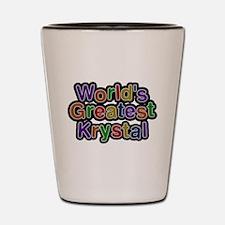 Worlds Greatest Krystal Shot Glass