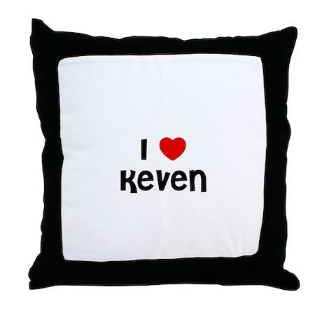 I * Keven Throw Pillow
