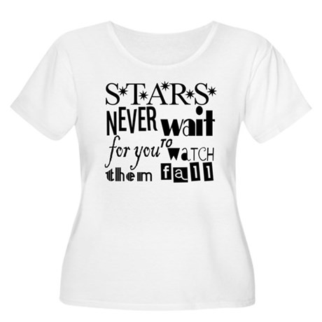 Stars Never Wait For You To W Women's Plus Size Sc