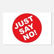 Just Say No! Postcards (Package of 8)