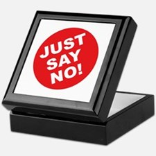 Just Say No! Keepsake Box