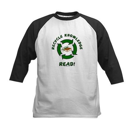 Recycle Knowledge Kids Baseball Jersey