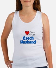 I Love My Czech Husband Women's Tank Top