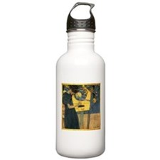 Gustav Klimt 'Music' Sports Water Bottle