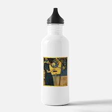 Gustav Klimt 'Music' Water Bottle