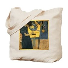 Gustav Klimt 'Music' Tote Bag