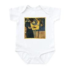 Gustav Klimt 'Music' Infant Bodysuit