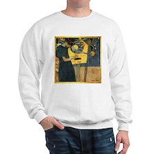 Gustav Klimt 'Music' Sweatshirt