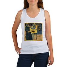 Gustav Klimt 'Music' Women's Tank Top