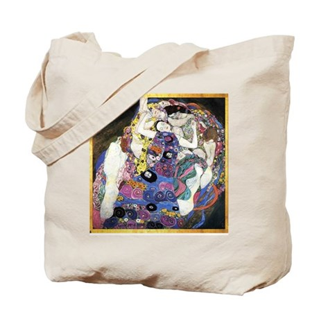 Gustav Klimt 'The Virgins' Tote Bag