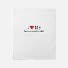 Grandmom & Grandad: Throw Blanket