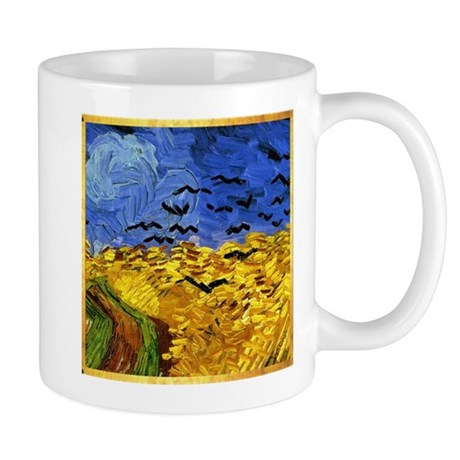 Van Gogh 'Crows in a Field' Mug