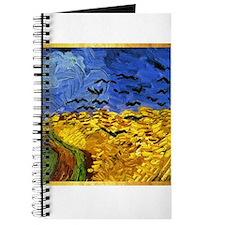 Van Gogh 'Crows in a Field' Journal