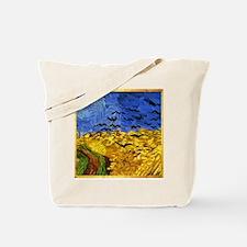 Van Gogh 'Crows in a Field' Tote Bag