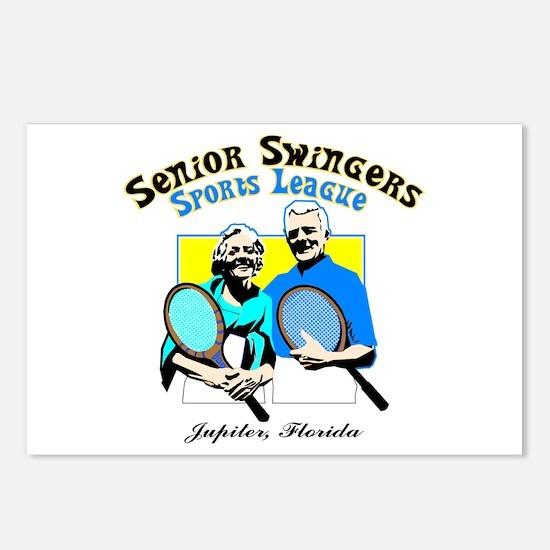 Senior Swingers Sports League Postcards (Package o