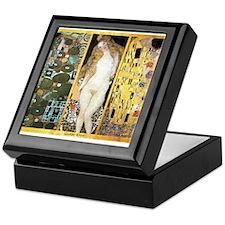 Gustav Klimt 'Couples Collag Keepsake Box