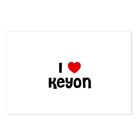 I * Keyon Postcards (Package of 8)