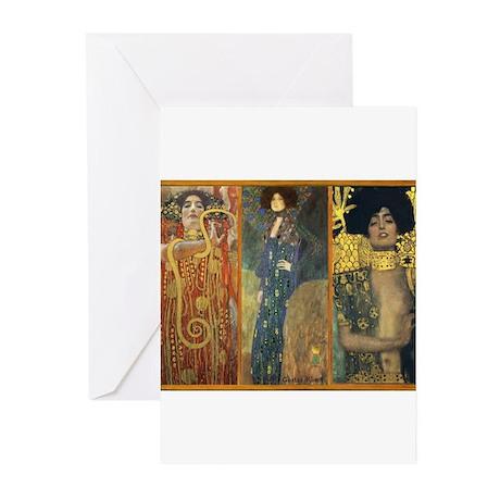 Gustav Klimt 'Dark Lady Coll Greeting Cards (Pk of