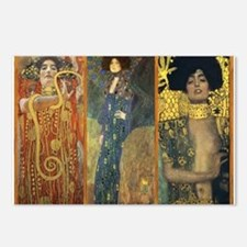 Gustav Klimt 'Dark Lady Coll Postcards (Package of