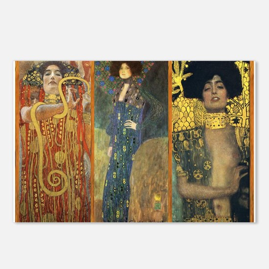 Gustav Klimt 'Dark Lady Coll Postcards (Package of