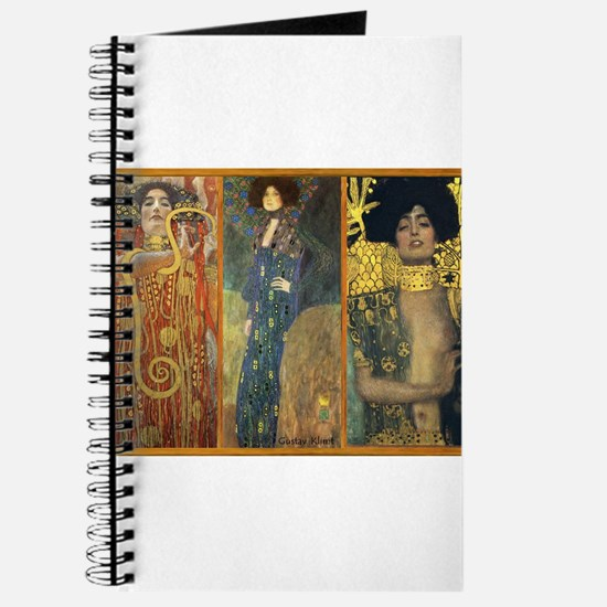 Gustav Klimt 'Dark Lady Coll Journal