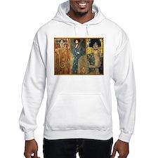 Gustav Klimt 'Dark Lady Coll Hoodie