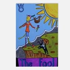The Fool Postcards (Package of 8)