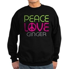 Peace Love Ginger Sweatshirt