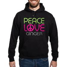 Peace Love Ginger Hoodie