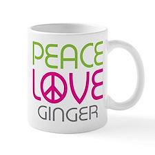 Peace Love Ginger Mug