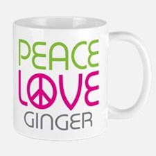 Peace Love Ginger Mug