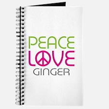 Peace Love Ginger Journal