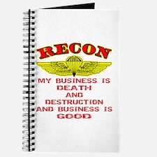 RECON Death & Destruction Journal