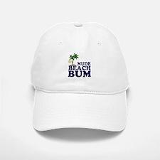 Nude Beach Bum Baseball Baseball Cap