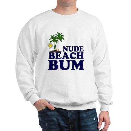 Nude Beach Bum Sweatshirt