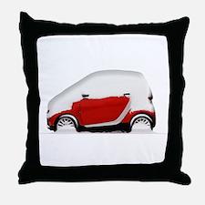 Smart Snow Throw Pillow