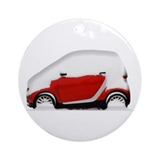 Smart Snow Ornament (Round)