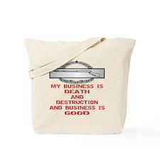 CIB Death And Destruction Tote Bag