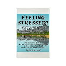 FEELING STRESSED? Rectangle Magnet