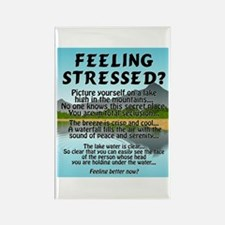 FEELING STRESSED? Rectangle Magnet