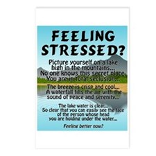 FEELING STRESSED? Postcards (Package of 8)