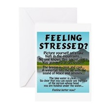FEELING STRESSED? Greeting Cards (Pk of 10)