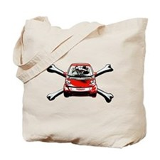 Smart Crossbones Tote Bag